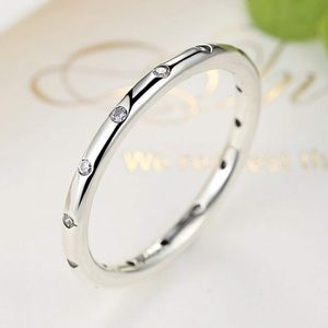 Jewelry - Sterling Silver Droplets Stackable Ring - Silver